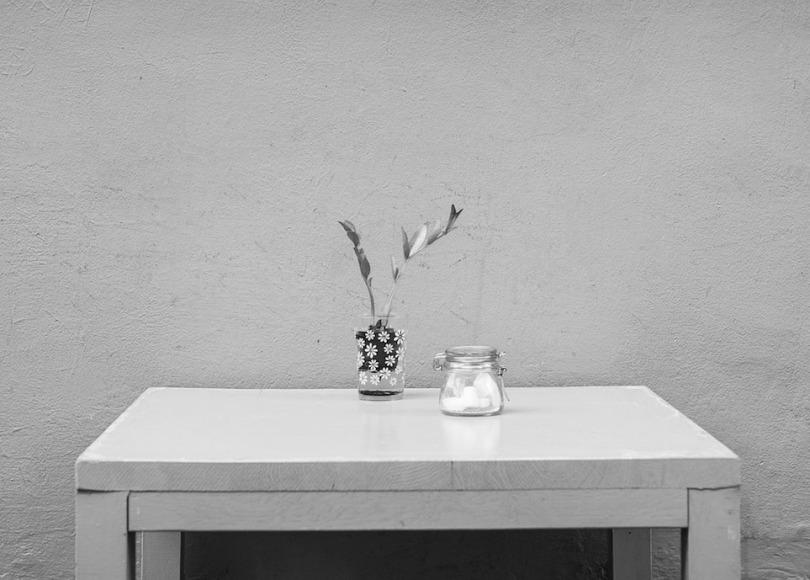 Furniture black and white