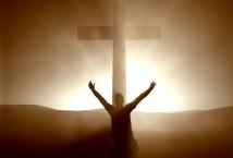 Slikovni rezultat za praying in front cross