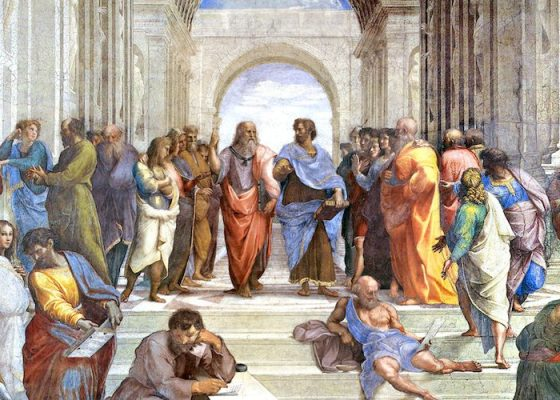 The School of Athens painting by Raphael