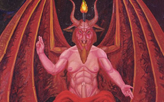 An image of the devil