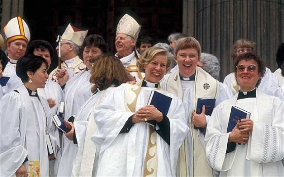 Women bishops in the Church of England