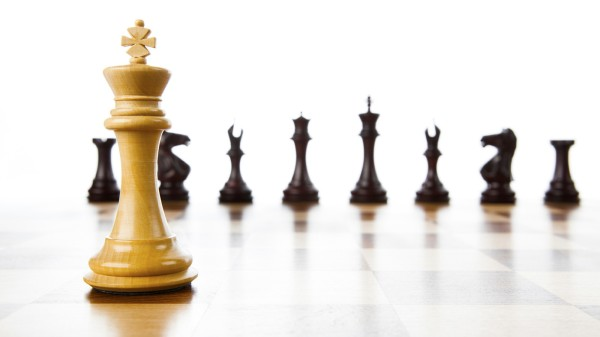 God's sovereignty chess board