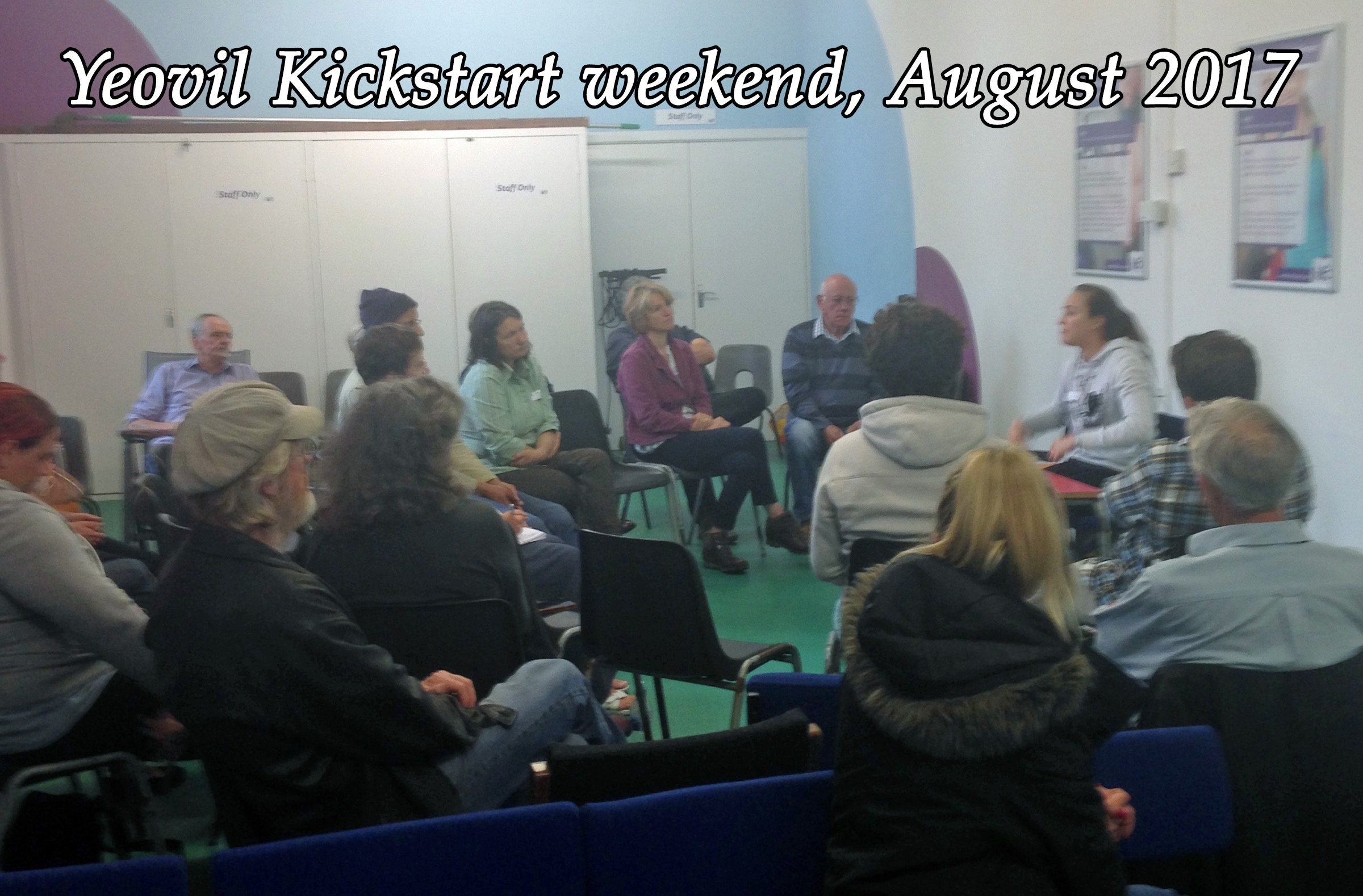 A photo of the Yeovil kickstart weekend in August 2017