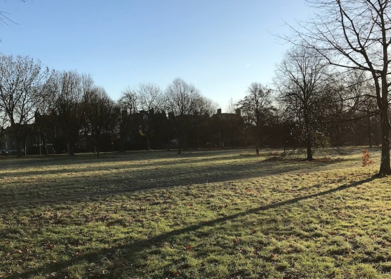 A photo of Wandsworth Common on a crisp sunny morning