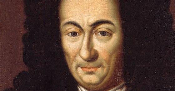 A painting of Gottfried Wilhelm Leibniz