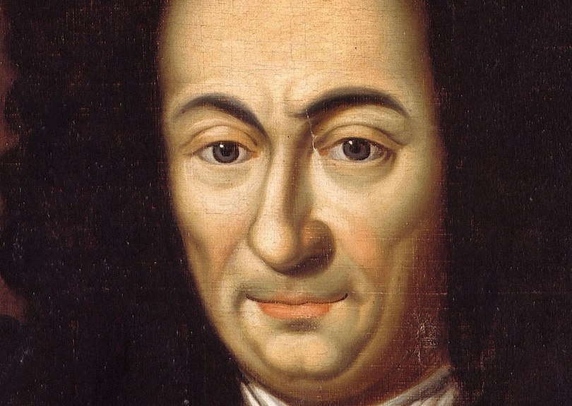 A painting of Gottfried Wilhelm Leibniz