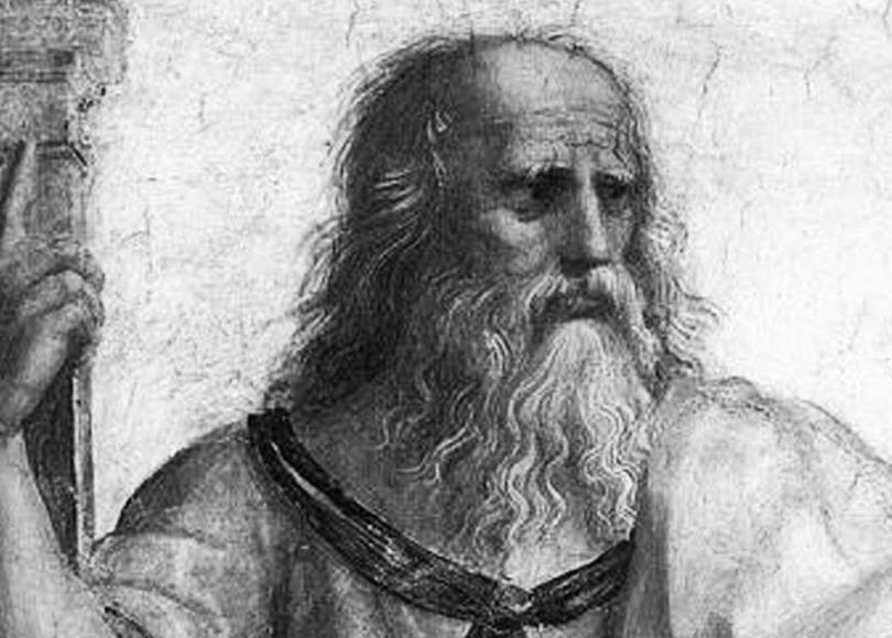 Plato black and white