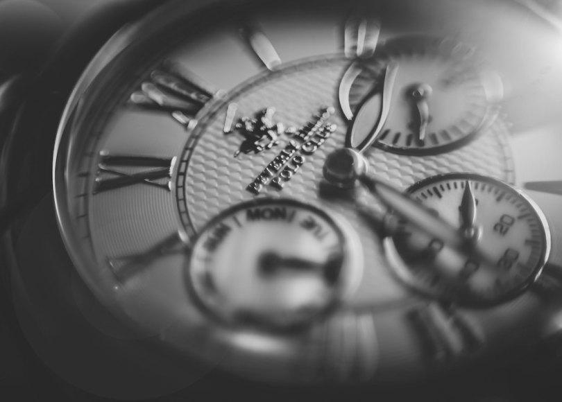 Clockwork black and white