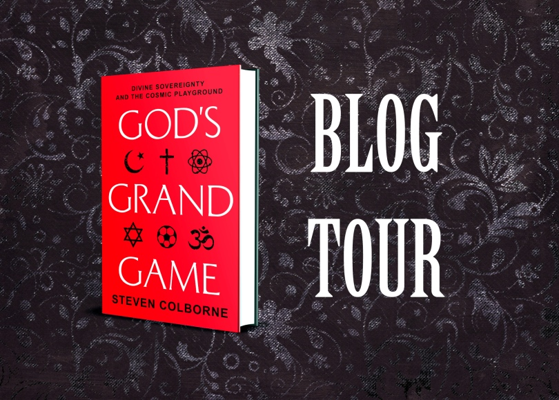God's Grand Game blog tour banner
