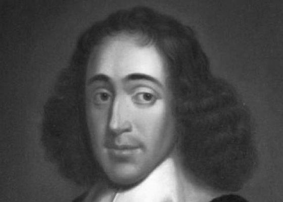 Spinoza black and white