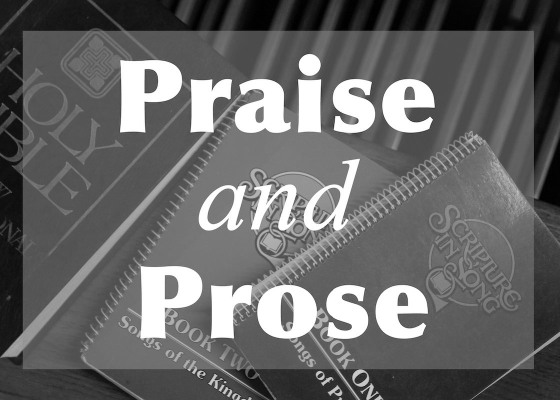 Praise and Prose black and white