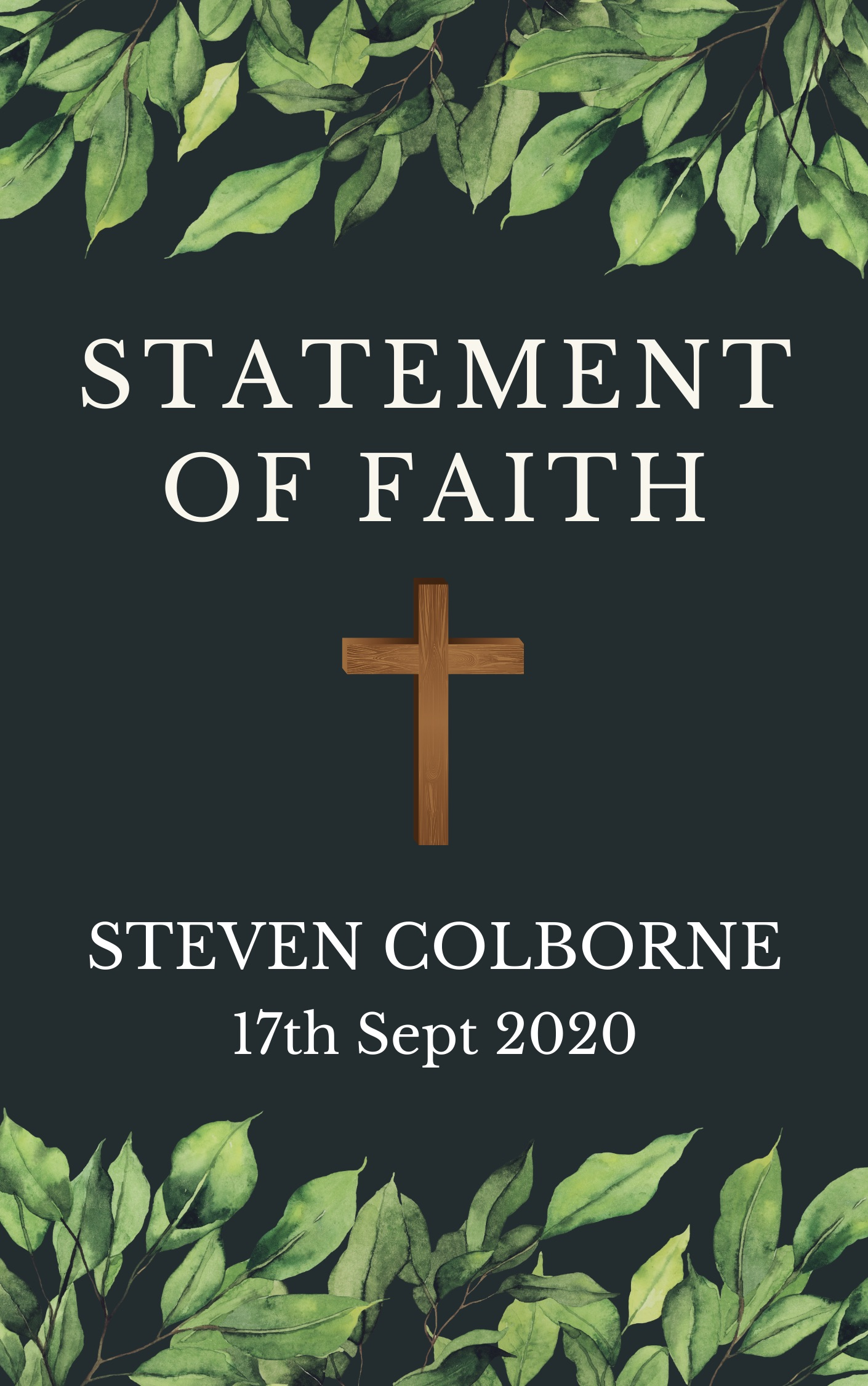 Statement of Faith cover