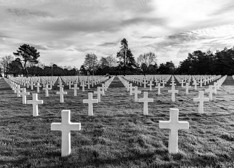 A field full of crosses